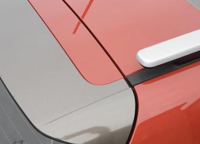 Car wrapping parziale Kia Stonic